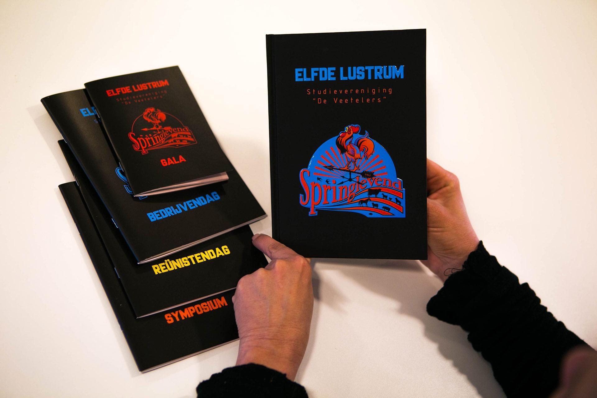 PerfectBook - Almanak met soft touch laminaat, spot UV en preeg