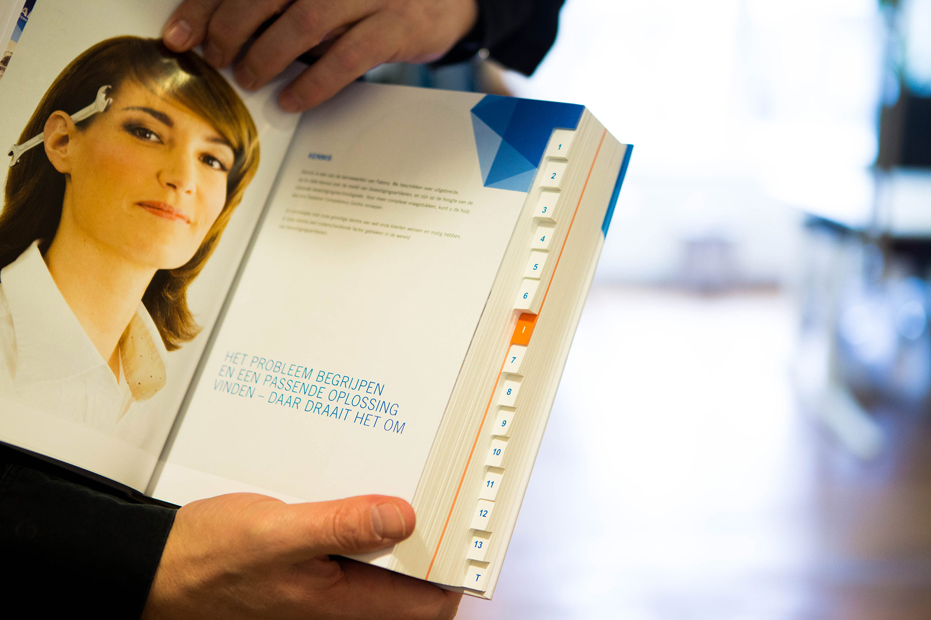 PerfectBook - Catalogus met tabs